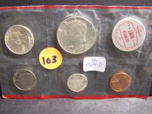 1964-D UNITED STATES MINT SET (MOSTLY SILVER !!!!!!!!!!!!!!!)