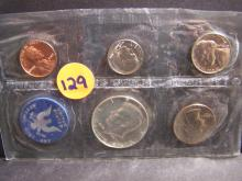 1965 UNITED STATES SPECIAL MINT SET (WITH SILVER HALF DOLLAR !!!!!!!!!!!!!!)