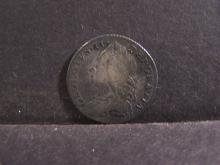 1757 Great Britain Six Pence Silver Coin.