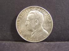 1936 Lynchburg Commemorative Half-Dollar.  AU/Unc