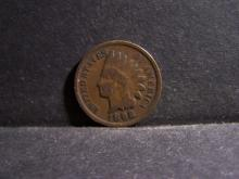 1898 INDIAN HEAD CENT (PRE 1900 CENT !!!!!!!!!!)