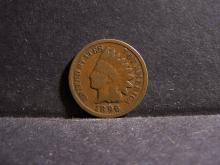 1896 INDIAN HEAD CENT (PRE 1900 CENT !!!!!!!!!!)
