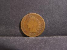 1890 INDIAN HEAD CENT (PRE 1900 CENT !!!!!!!!!!!!!)