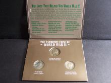 The Patriotic Coins of WW2 Three-Coin Set