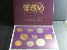 1970 Great Britain & Northern Ireland 8-Coin Proof Set.