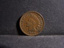 1899 INDIAN HEAD CENT (PRE 1900 CENT !!!!!!!!!!!!!!)