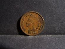 1896 INDIAN HEAD CENT (PRE 1900 CENT !!!!!!!!!!!!!!)
