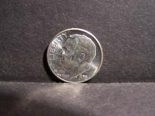 1955 BRILLIANT UNCIRCULATED SILVER ROOSEVELT DIME