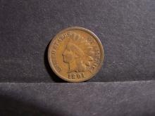 1891 INDIAN HEAD CENT (PRE 1900 CENT !!!!!!!!!!!!)