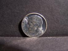 1955 SILVER ROOSEVELT DIME (BRILLIANT UNCIRCULATED !!!!!!!!!!!!!!!!!!)