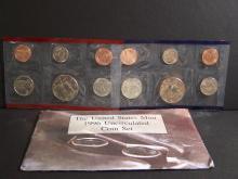 1996 Uncirculated Mint Set.  No