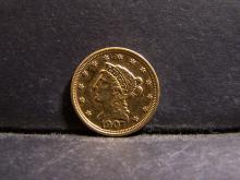 1907 LIBERTY $2 1/2 DOLLARS GOLD COIN (JEWELRY / RARE $2.5 GOLD COIN !!!!!!!!!!!!!!!)
