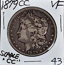 1879-CC Morgan Dollar VF Nice Color