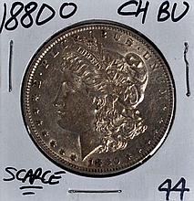 1880-O Morgan Dollar CH BU Sharp Strike