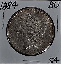 1884 Morgan Dollar BU