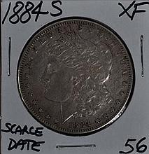 1884-S Morgan Dollar XF Scarce