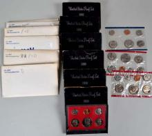 15 U.S. Mint and Proof Coin sets