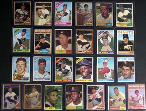 25 highly collectible vintage baseball cards