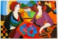 PATRICIA GOVEZENSKY VILLA ST. TROPEZ HAND SIGNED LIMITED ED. GICLEE ON CANVAS, Patricia Govenzensky, Click for value