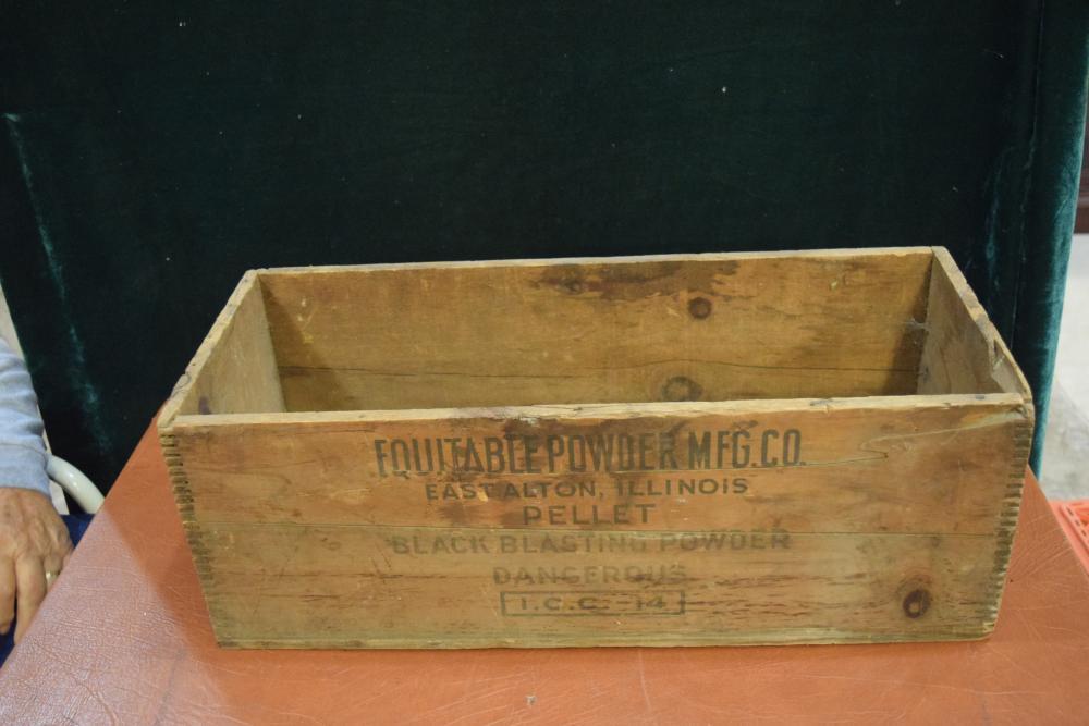 Pellet Powder Box
