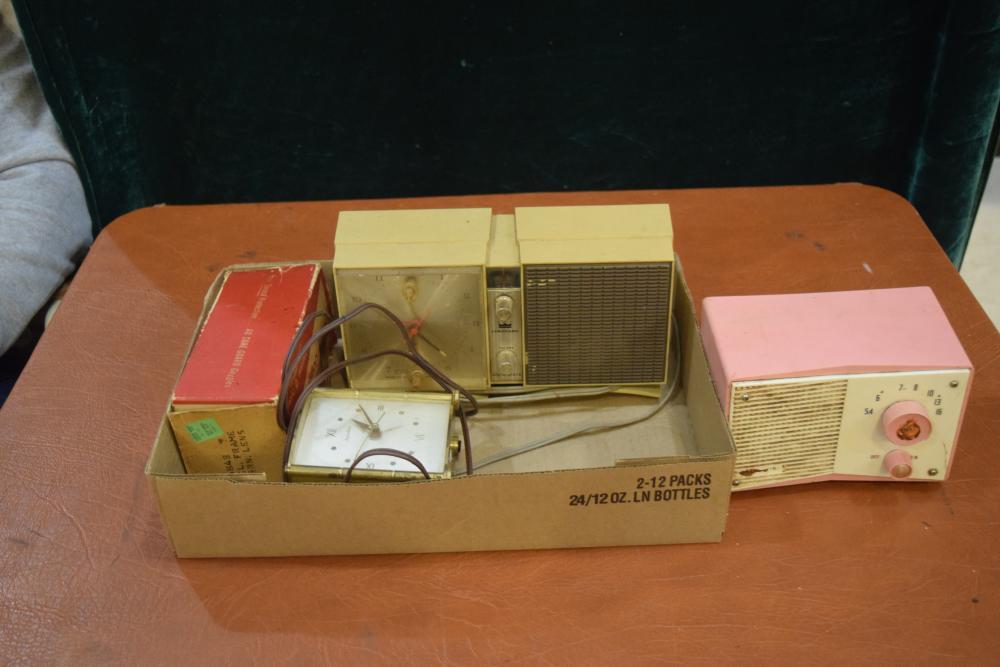 Flat of Old Radios