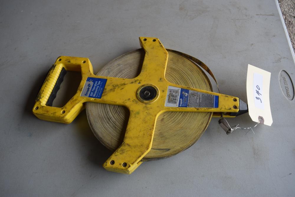 300' Fiberglass Measuring Tape