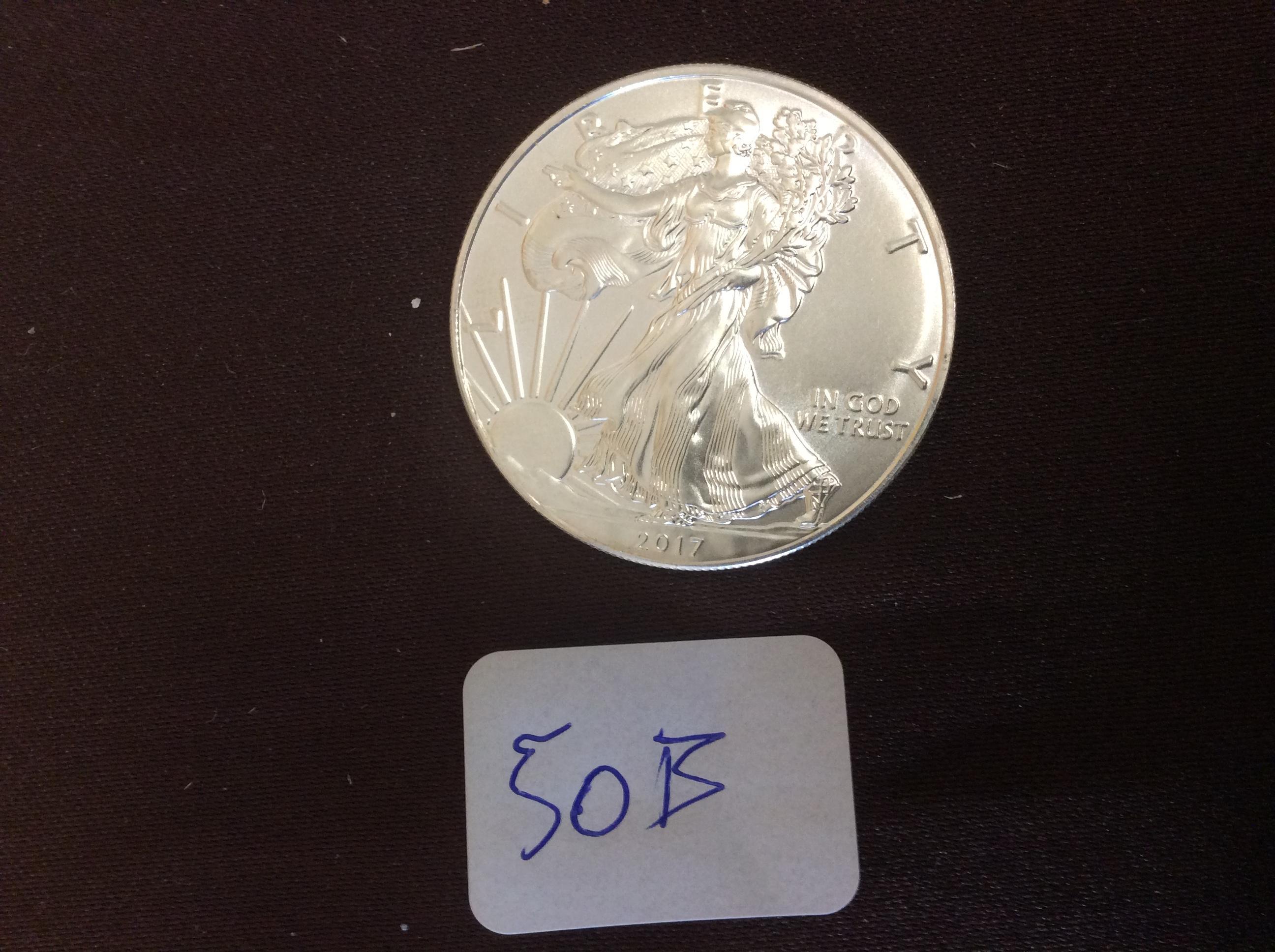 1 oz fine silver one dollar coin