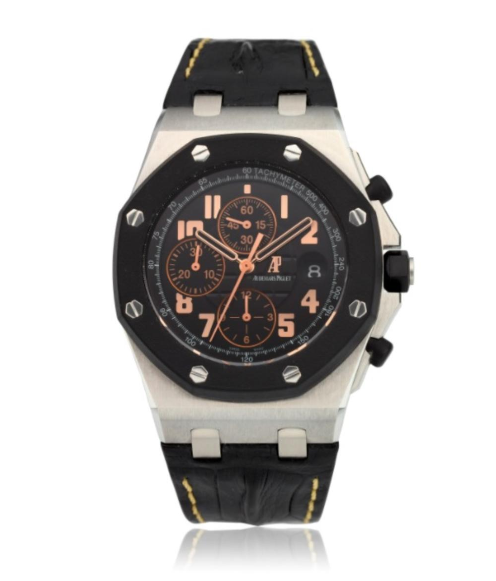 AUDEMARS PIGUET, ROYAL OAK OFFSHORE, 57TH STREET BOUTIQUE LIMITED EDITION CHRONOGRAPH, NO. 5 OF 250, Ref. 26298SK.OO.D101CR.01