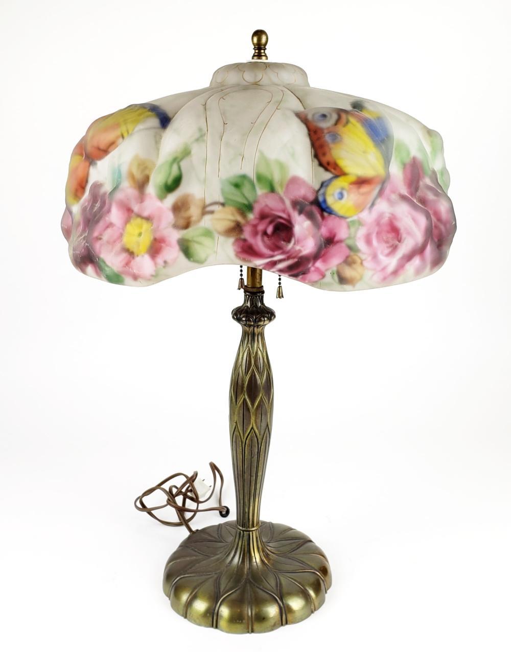 Magnificent Antique Pairpoint Lamp