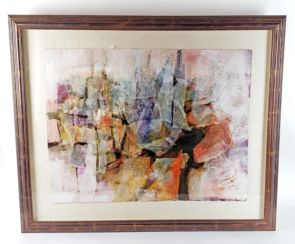Framed Modern Contemperary Painting