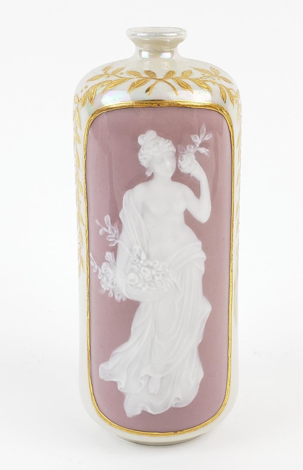 19th C. Pate Sur Pate Porcelain Vase