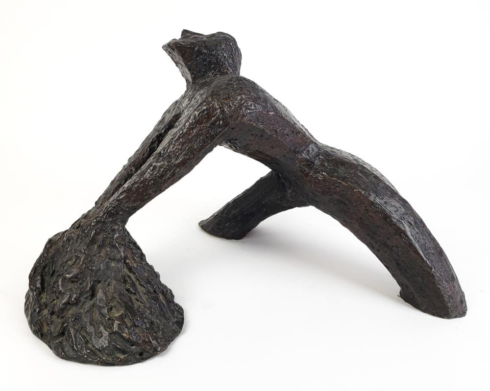 Abstract Bronze Figure in the manner of Larry Mohr