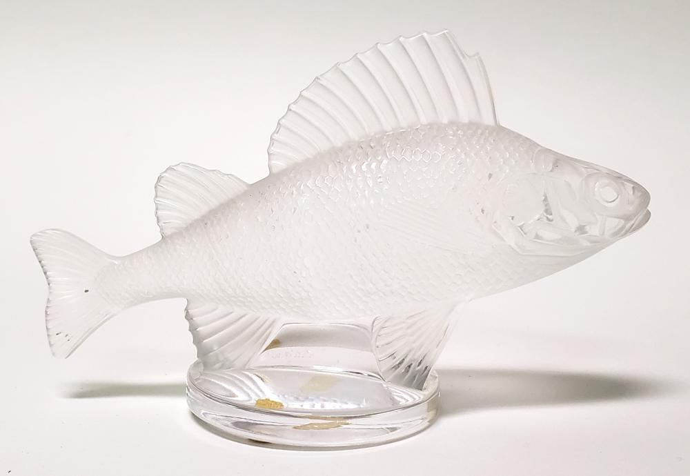 Lalique Crystal Figure of Fish