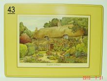 Pimpernel De Luxe Place Mats of English Cottages