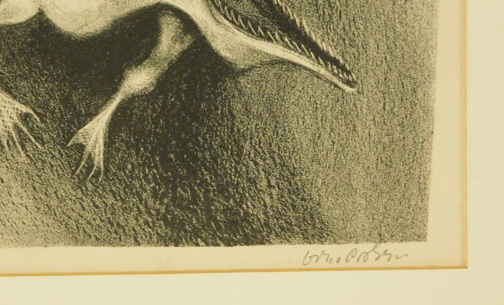 "William Gropper (American, 1897-1977), ""Davy Crockett"","