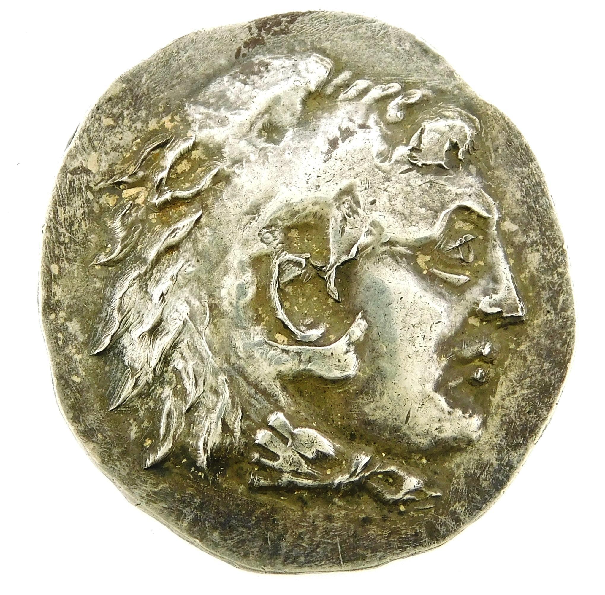 COIN: Ancient Greece Mesambria. Circa 225-175 BC, Struck in the name of Alexander III of Macedon (Alexander the Great) AR Tetradrach...