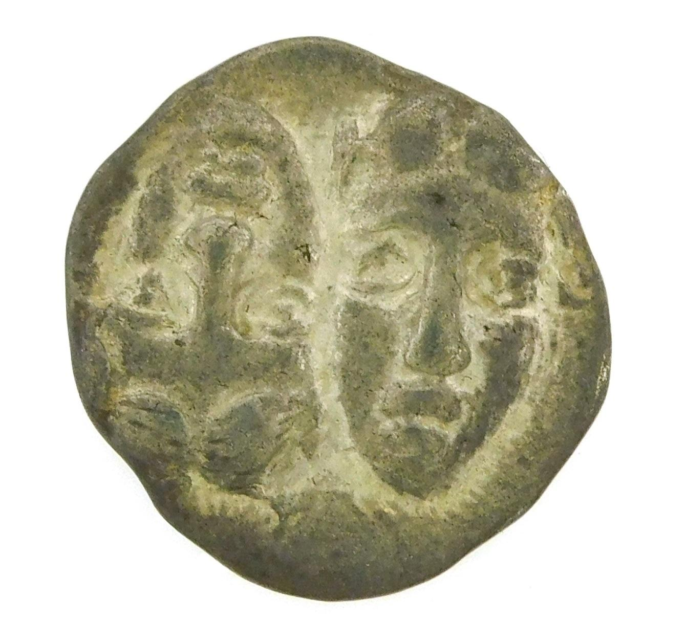 COIN: Ancient Greece Thrace Istros. Circa 313-280 BC, AR Drachm. Two heads side by side, Sea Eagle and Dolphin. EF. 4.12 Grams, 18.5...