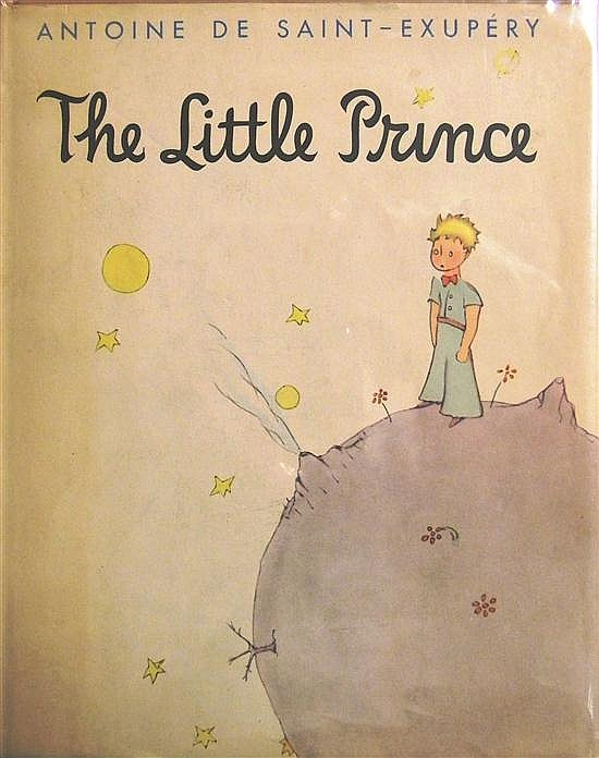 SAINT-EXUPERY, ANTOINE DE. THE LITTLE PRINCE. New York 1943. This edition was produced in a limited, numbered format, and this is #4...