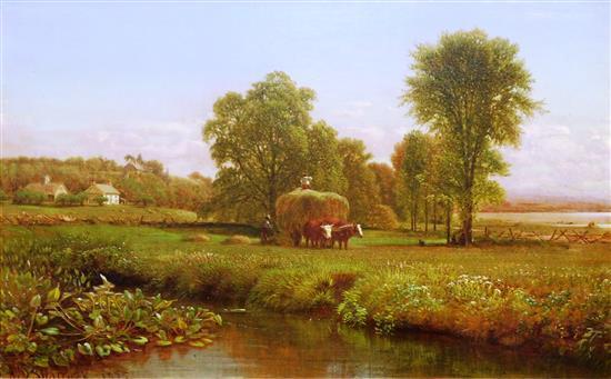 Aaron Draper Shattuck (American, 1832 - 1928),