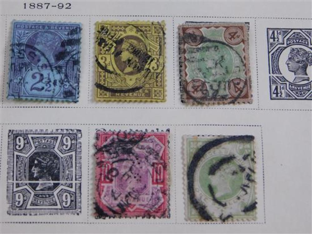 STAMPS: A complete Four Volume Scott Specialty Albums of British Commonwealth of Nations In America; Great Britain. Europe And Ocean...