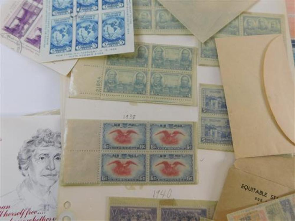STAMPS: U.S. Scott Specialty Album published 1950 There is duplication of every page for mint and used copy of each stamp. No stamps...