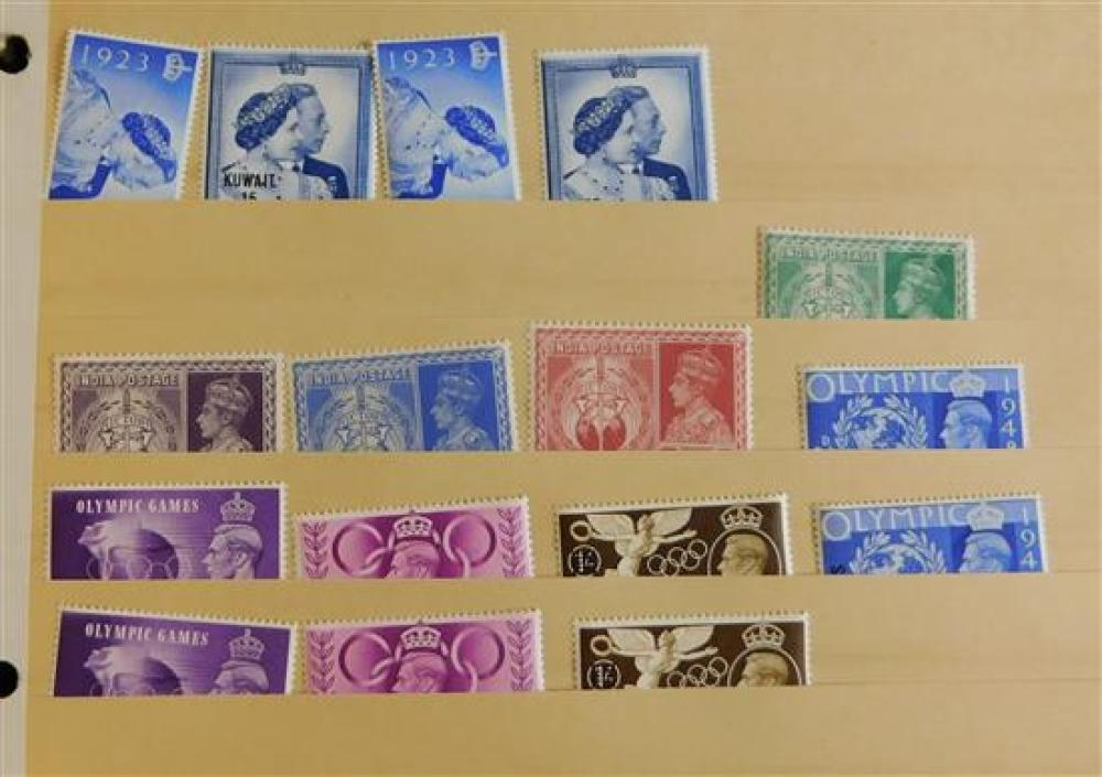 STAMPS: Large Assortment of predominantly mint sets in original packets of British America (Newfoundland and Canada); Europe, Asia a...