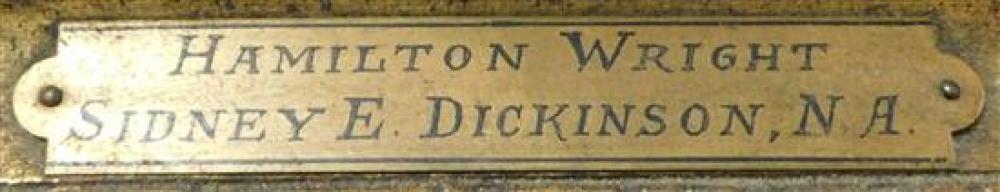 Sidney Dickinson (American, 1890 - 1980), oil on canvas,