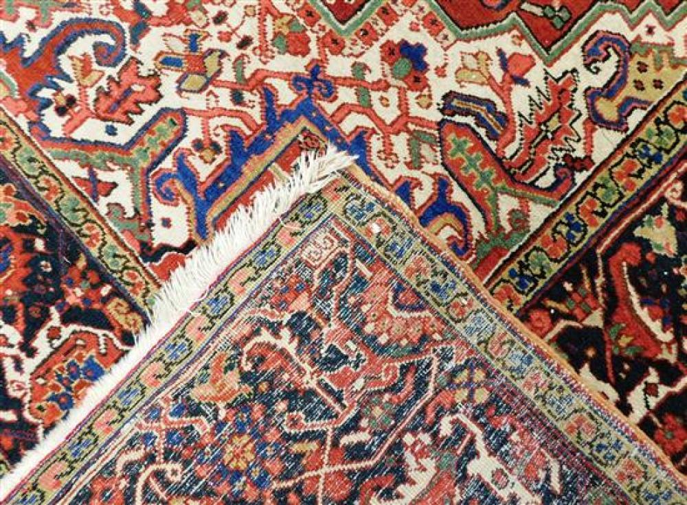 RUG: Persian Heriz, 10' 4