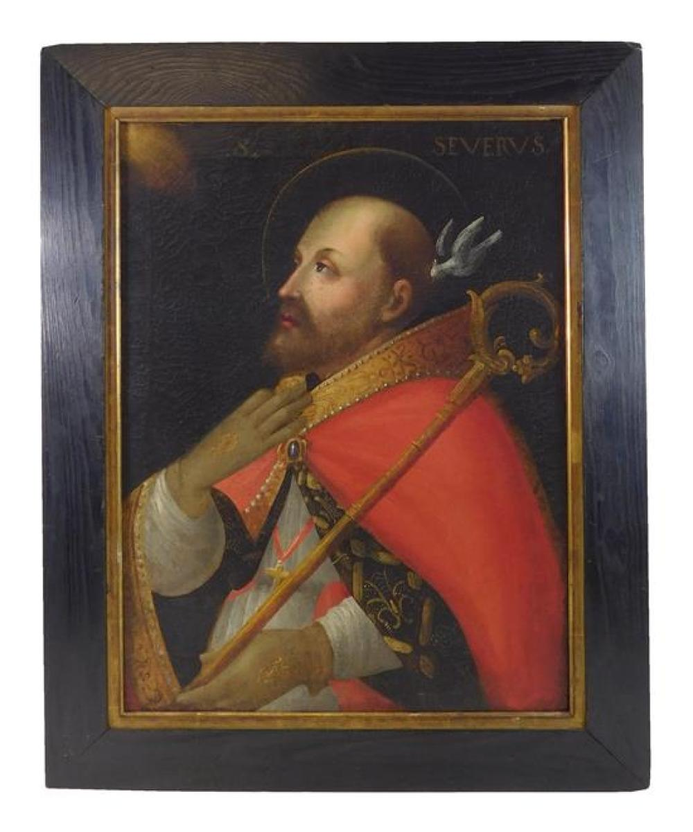 Oil on canvas, Continental, 17th C. or later,