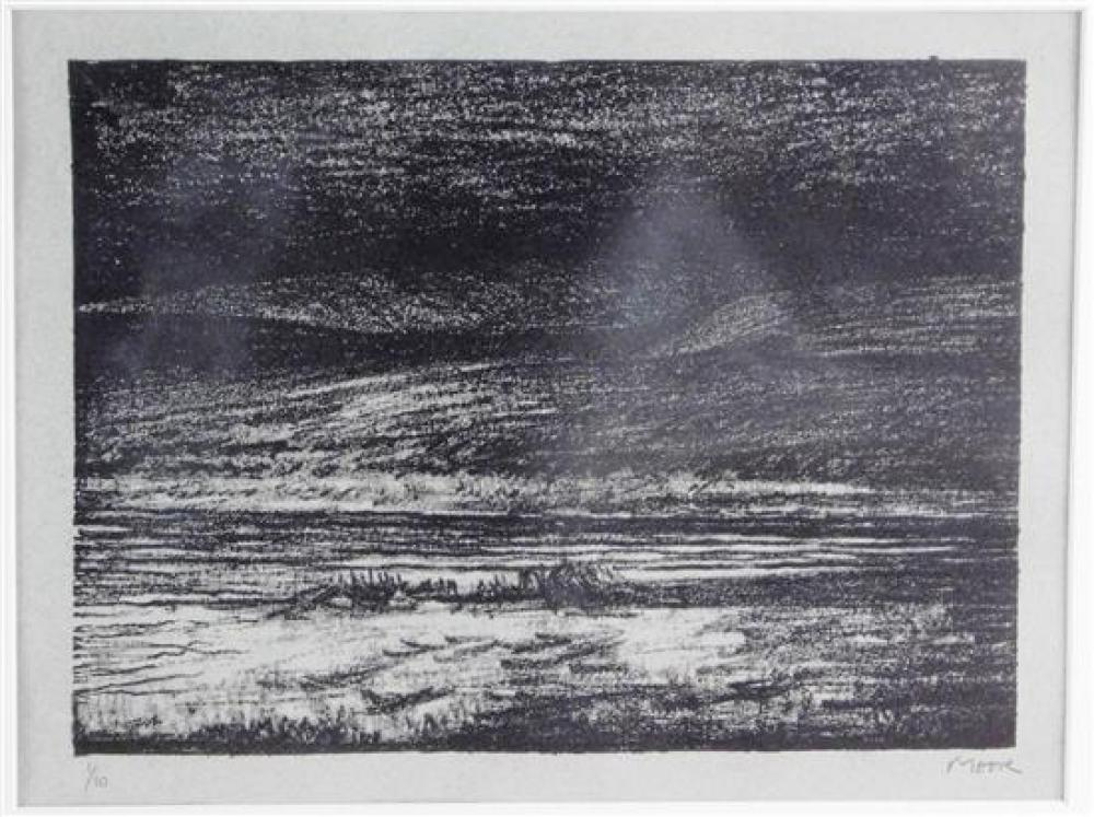 """Henry Moore (British, 1898-1986), """"Landscape C"""", lithograph, 1975, Cramer 287, ed: 10 (Cramer cites an edition of 25 with 5 artist p..."""