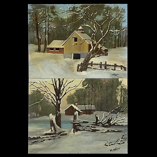 Virgil William West, California Art, Landscapes