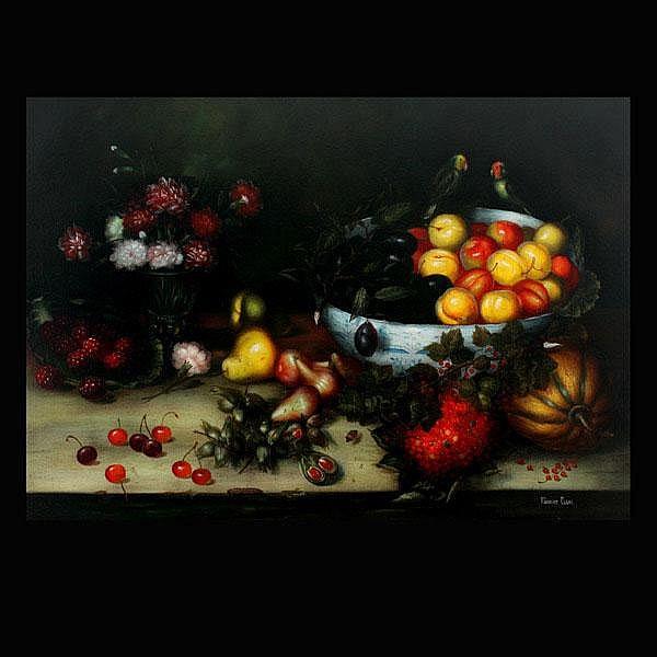 Robert Elgas.  Still Life Oil