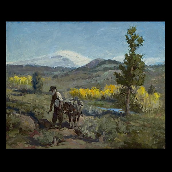 Raphael Lillywhite, American Landscape Art Oil