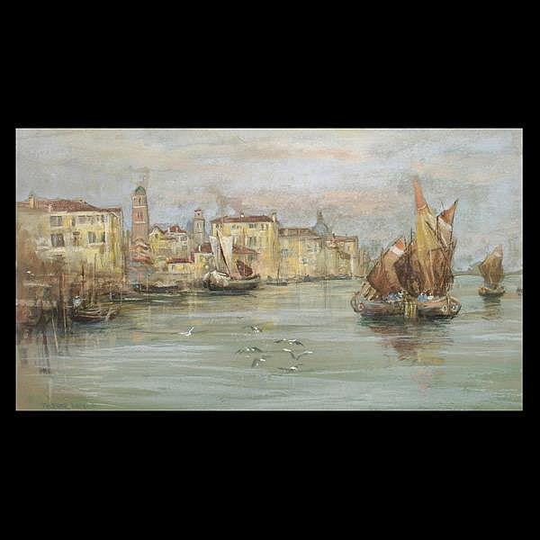 Trevor Hadden British Watercolor of Venice